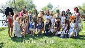 All the models at Lady by the Lake--2014